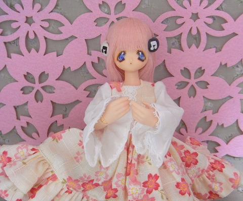 桃の花~♪(※桜です)