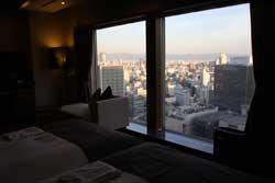大阪夜景一望
