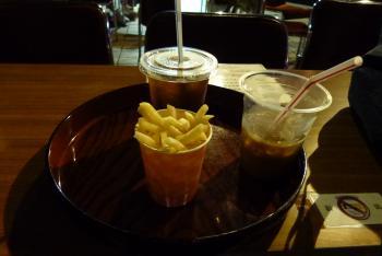 ポテト&コーヒー&紅茶