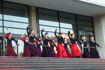 オープニングイベント(フラメンコ舞踊団)