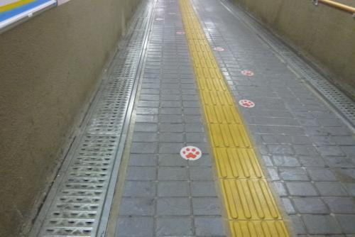 駅(足跡)