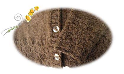 茶色のセーター2