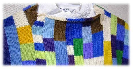 セーター襟