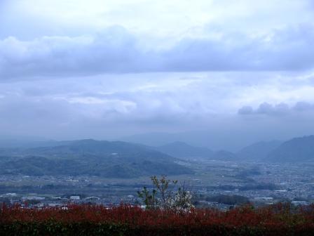湯楽里館からの風景
