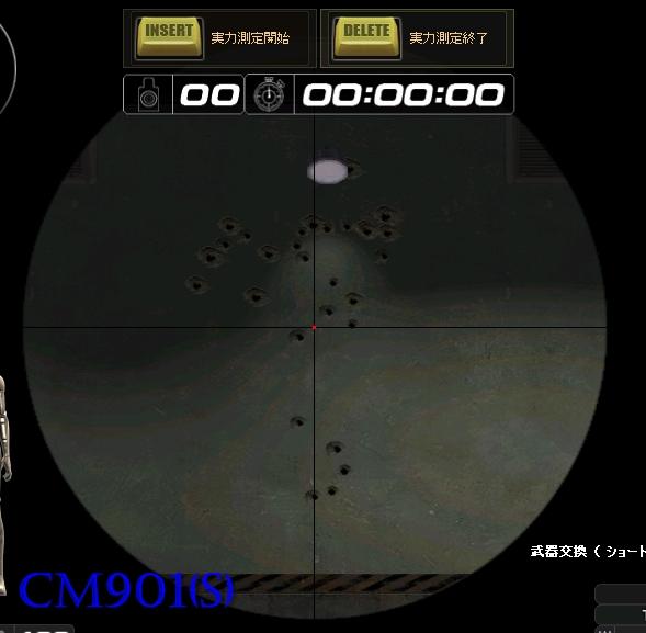 CM901(S)のリコイル