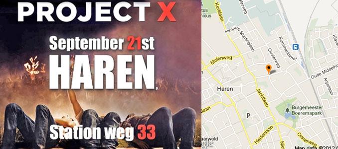 Project X Haren Cor A