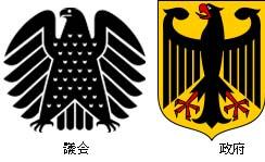 独逸 議会・政府のシンボルのコピー