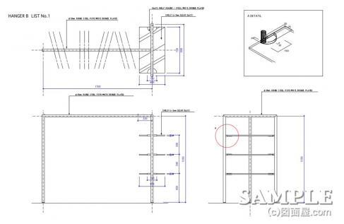 SHL+ガラス棚什器-Bゾーン
