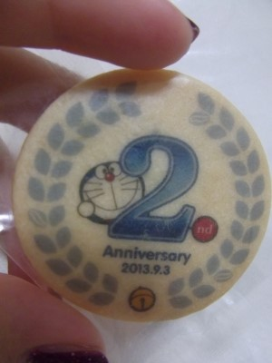2周年アニバーサリークッキー