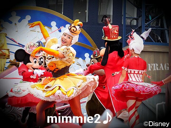キュイジーヌ☆ミニーちゃんチームの可愛いお遊び♪