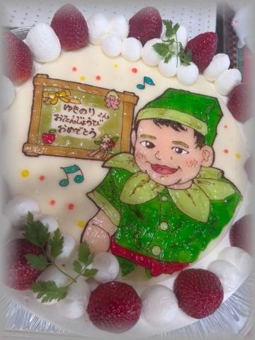 ラ・フィーユ 似顔絵ケーキ 20141 (2)