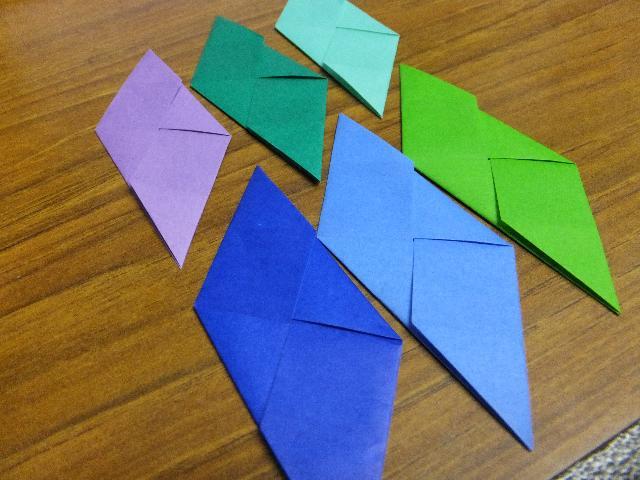 クリスマス 折り紙 折り紙 立方体 : akira1105.blog114.fc2.com