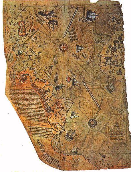 ピーリー・レイースの地図2