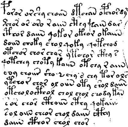 ヴォイニッチ手稿2
