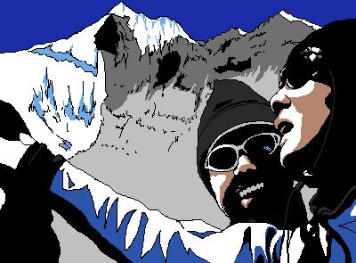 映画「ブラインドサイト~小さな登山者たち~」観ました