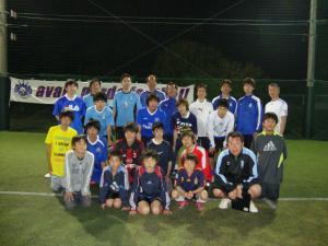 【青葉FC Photo album】フットサルで汗流して『おいしいお飲み物』を飲もう大会!2012年4月29日(日)