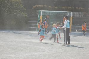 2011年度青葉FC初蹴り親子サッカー(2012.1.8)@すすき野小学校