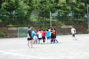【青葉FCお楽しみイベント】2012年度 親子サッカー&バザー@すすき野小学校/@嶮山公園(横浜市青葉区)/少年サッカー