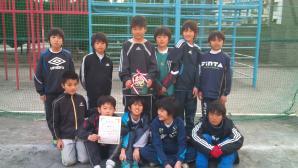 【2011年 第1回U11チャレンジカップ】U-11 祝!第3位