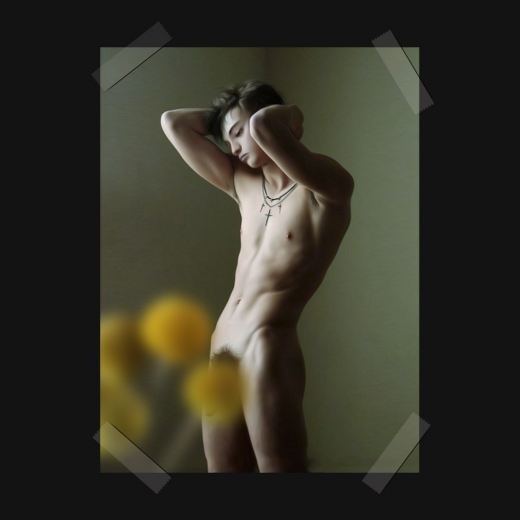 美青年の裸