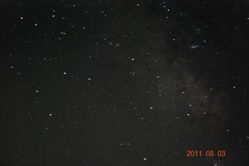 星空②(天の川)