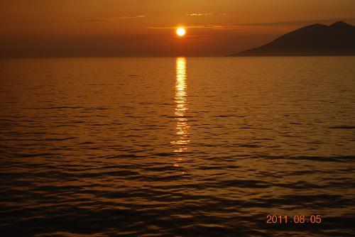 父ちゃんの夕陽