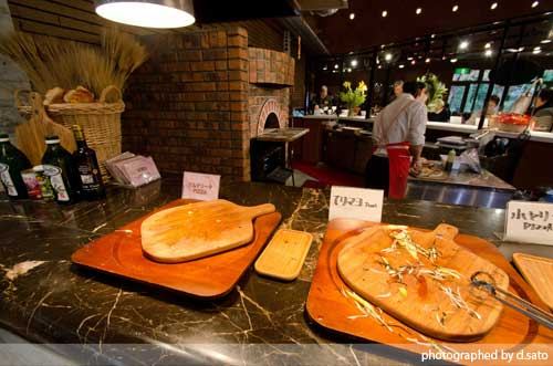 千葉県 長生郡 長柄町 イタリアン ランチ バイキング 生命の森 レストラン ブローニュ 石窯ピザ 食べ放題21