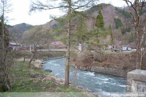 長野県 白馬 観光 大出の吊橋 レンタサイクル 散策 白馬駅 写真6