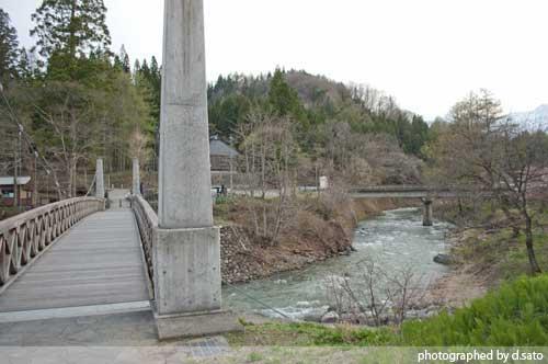 長野県 白馬 観光 大出の吊橋 レンタサイクル 散策 白馬駅 写真18
