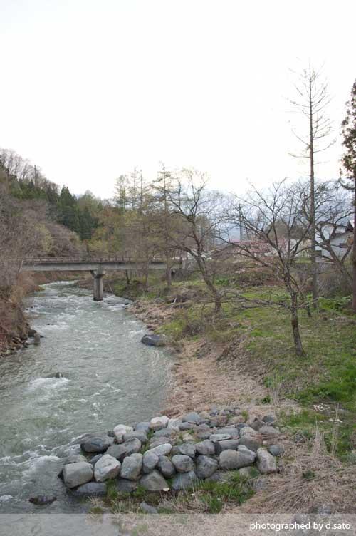 長野県 白馬 観光 大出の吊橋 レンタサイクル 散策 白馬駅 写真19