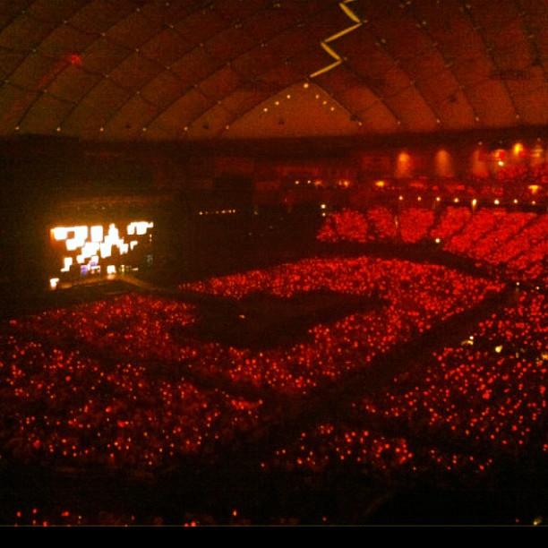 初日東京ドーム5万人のレッドオーシャン