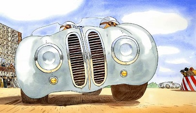 BMW328 from the racecar alphabet