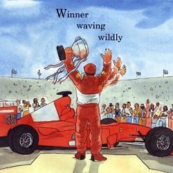 Ferrari F1-2001 from the racecar alphabet