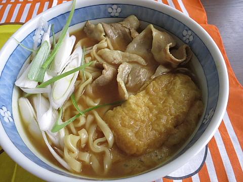 正麺カレーうどん10