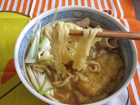 正麺カレーうどん11