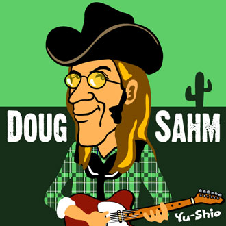 Doug Sahm caricature