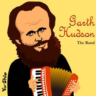 Garth Hudson The Band caricature