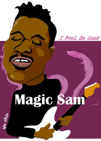 Magic Sam caricature