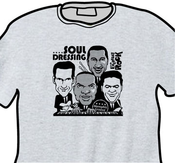 Booker T. & The MG's EverydayRock T Shirt Caricature