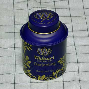 Wittard Darjeeling Tea Caddy 125g