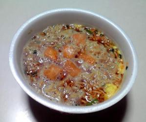 チキンラーメン キムチ(できあがり)