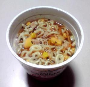 hanauta レモングラス醤油ヌードル(できあがり)