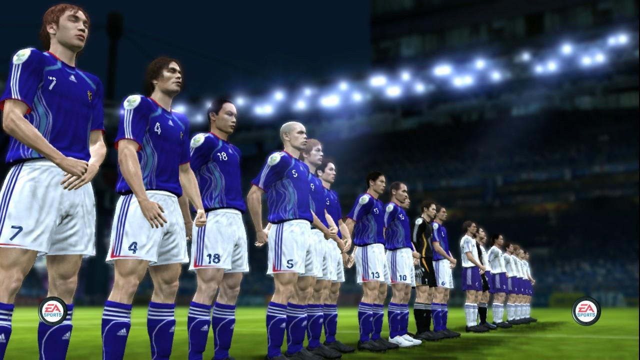 Xbox360 「2006 FIFA ワールドカップ ドイツ大会」の日本代表 | 雑雪帳