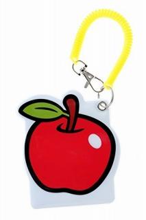 りんごパスケース