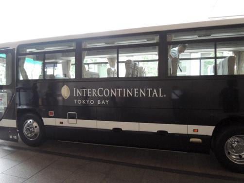 インターコンチネンタル 東京ベイ ニューヨーク ラウンジにてアフタヌーンティーをいただく①(送迎シャトルバスの乗り方)