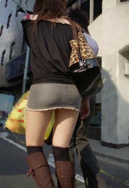 ミニスカート画像11