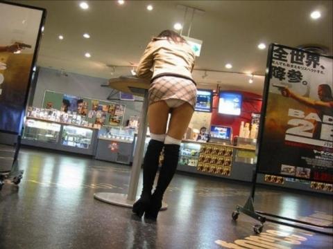 ミニスカート画像12
