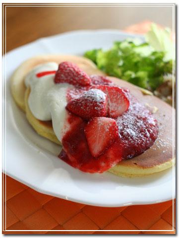 Lenちゃんのミックスベリー&クリームチーズソース