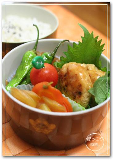 豆腐バーグ弁当