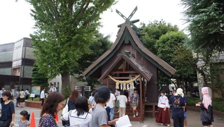 浦高祭・門1